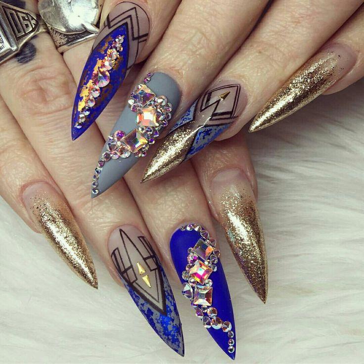 western nail art ideas