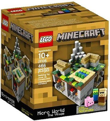 Lego - Minecraft - The Village - Set 21105: Amazon.co.uk: Toys & Games