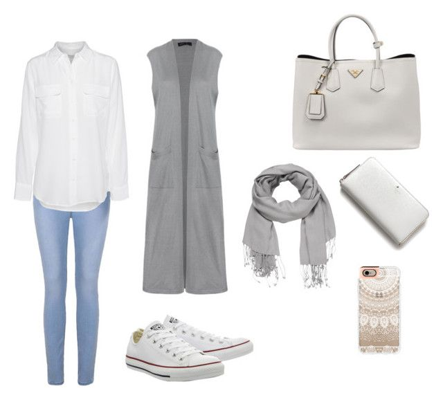 """""""Hijab style"""" by kalgerie on Polyvore featuring mode, Converse, Ally Fashion, Equipment, Prada, Kate Spade, Casetify en maurices"""