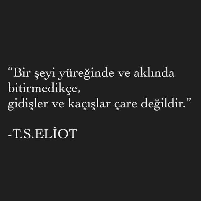 ~ T.S. Eliot