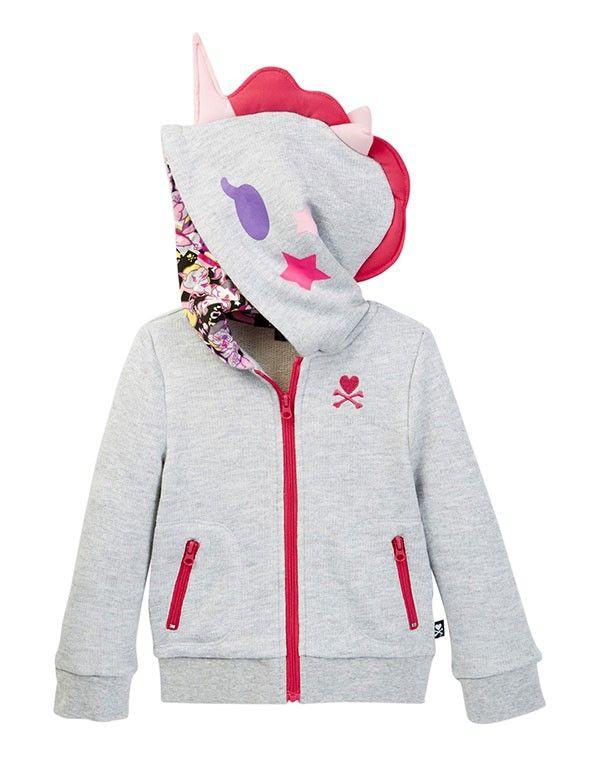 tokidoki Bambino Unicorno Zip-Front Hoodie