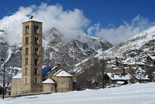 Boí, #PatrimoniodelaHumanidad @ViajesPrimera http://www.viajesdeprimera.com/2012/11/romanico-del-valle-de-boi-lleida-arte-en-tiempos-de-crisis/