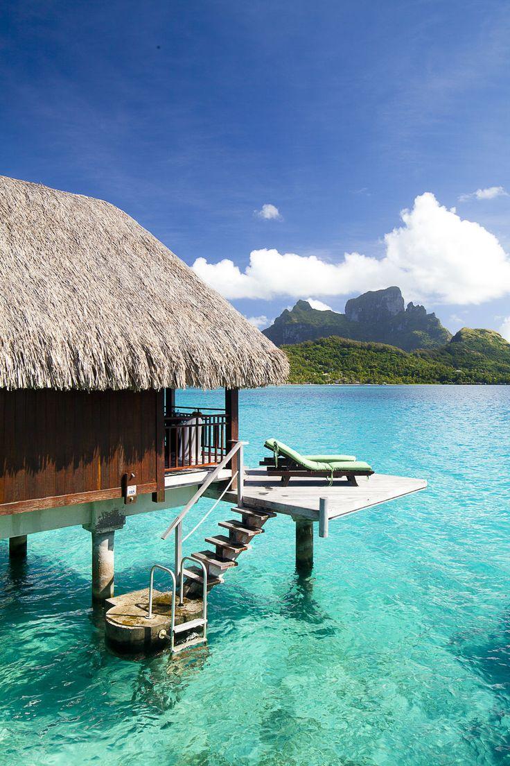 Sofitel Bora Bora Private Island Wow is that water real? Beautiful