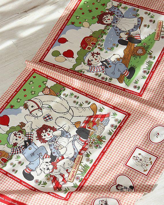 #Cotton #Fabric Made in Korea  Ann cut print fabric by FabricKorea #Cushion #Pillow case #cushion case #bedding #bag ...