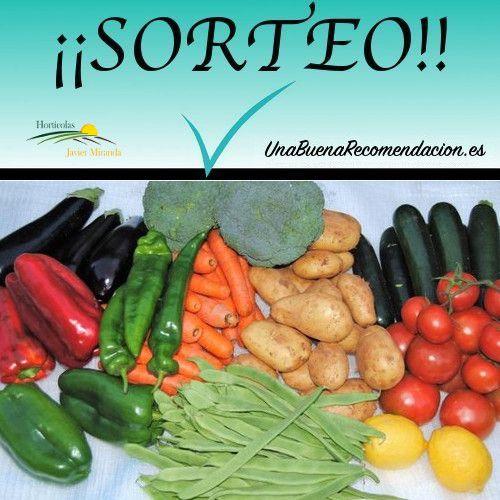 Sorteo Cesta Grande Verduras y Hortalizas Temporada