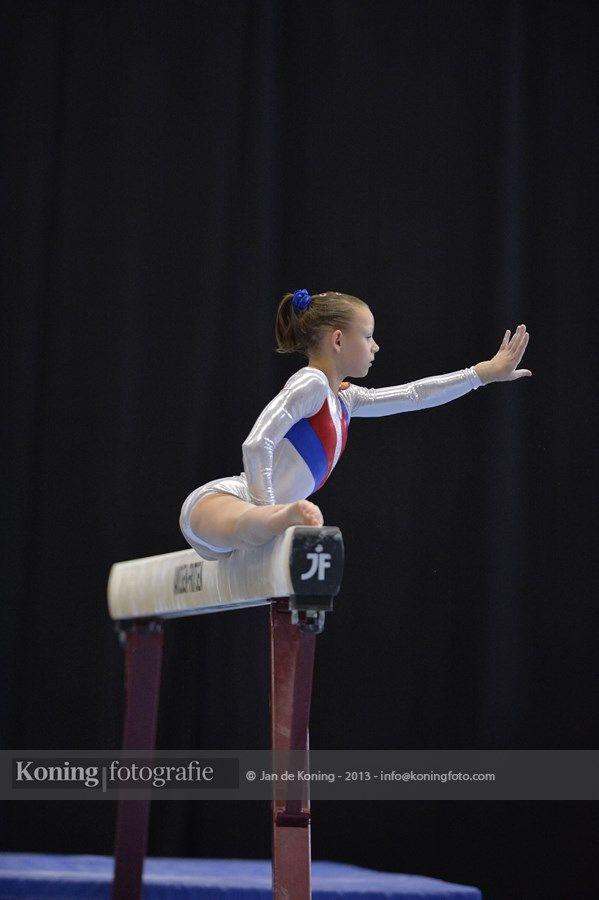 Jeugd Olympische Spelen Utrecht 2013 Teamcompetitie Turnen Dames Wedstrijd 4 Deel II   Jan de Koning Fotografie