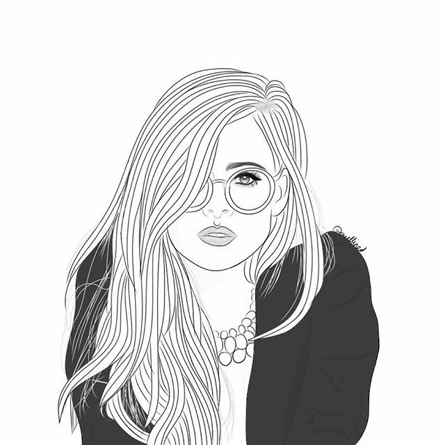 illustration , digitalart , tumblr outlines, outline drawing, outlines ,  outlined,outllined,