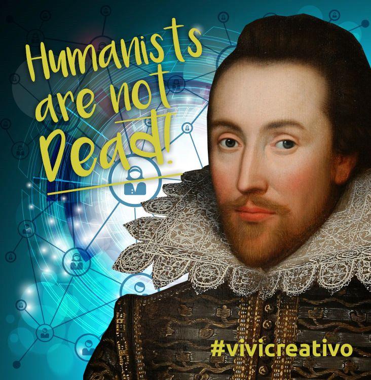 """Visual per l'articolo """"I 6 mestieri dell'umanista digitale"""" http://www.vivicreativo.com/mestieri-umanista-digitale/"""
