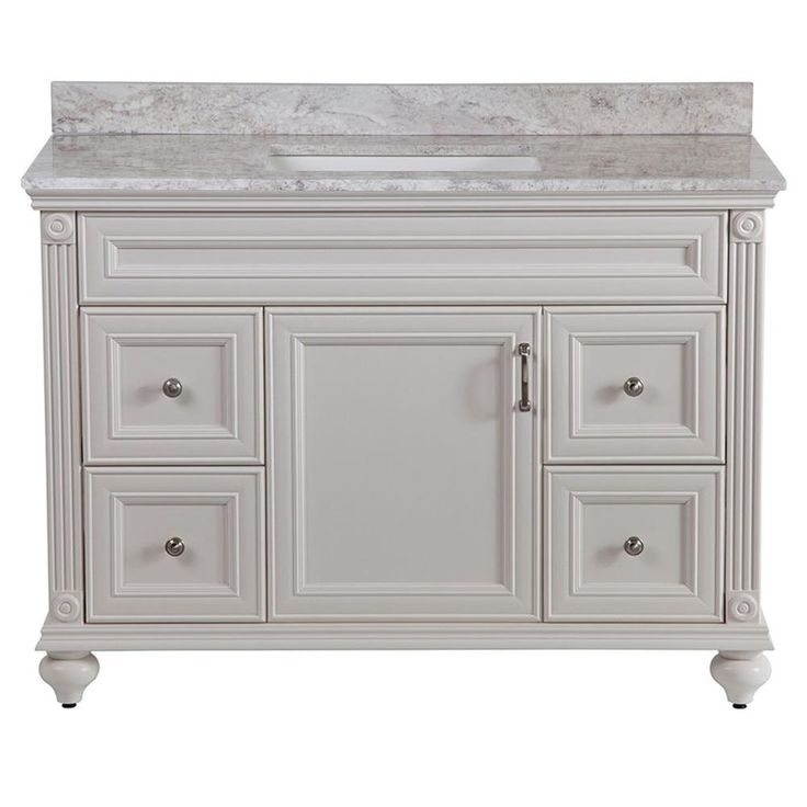 Create Photo Gallery For Website Home Decorators Collection Annakin in W Bath Vanity in Cream with Stone Effect Vanity Top in Winter Mist