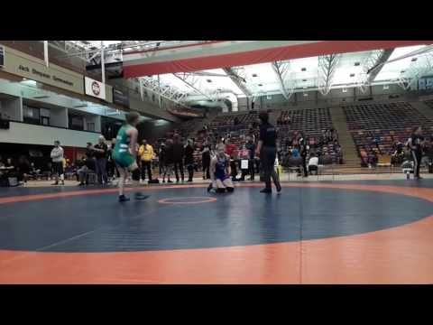 2016 Dino Invitational: 59 kg Carly Baker vs. Hannah Franson