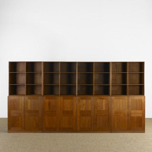Mogens Koch, Teak Bookcases By Rud.