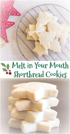 The Best Simple Two Way Shortbread Cookies, the ultimate melt in your mouth #shortbread #cookie. Traditional or brown sugar. Your new #Christmas Shortbread recipe. via @https://it.pinterest.com/Italianinkitchn/