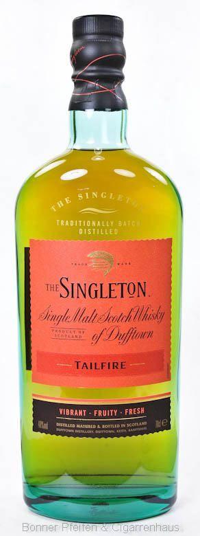Singleton Whisky Tailfire Region : Highland 40% alc./vol. 0,7l mit Farbstoff…