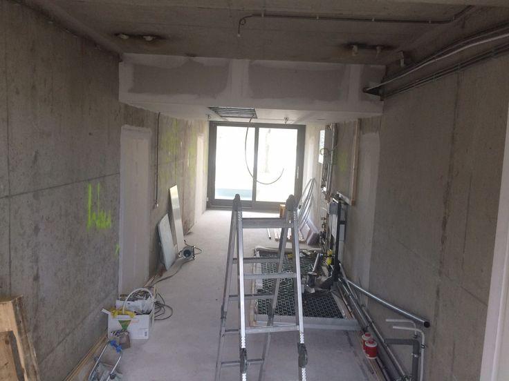 Studio under construction