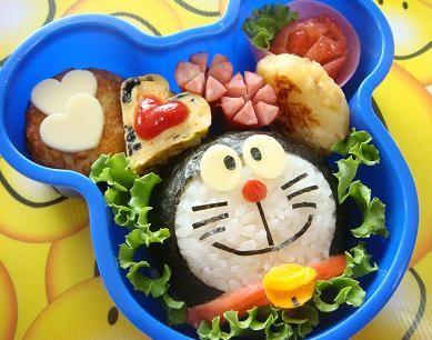 Lonchera Doraemon (Gato cósmico) para los niños... so cute!!!