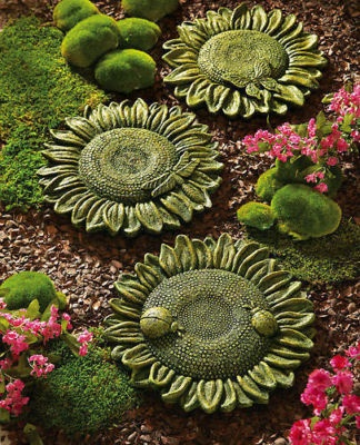 Sunflower Stepping Stones