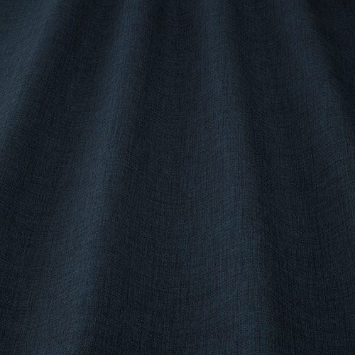 Kendal - Indigo fabric, from the Textures & Plains collection by iLiv