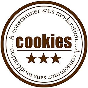 étiquettes à imprimer pour offrir les cookies maison.