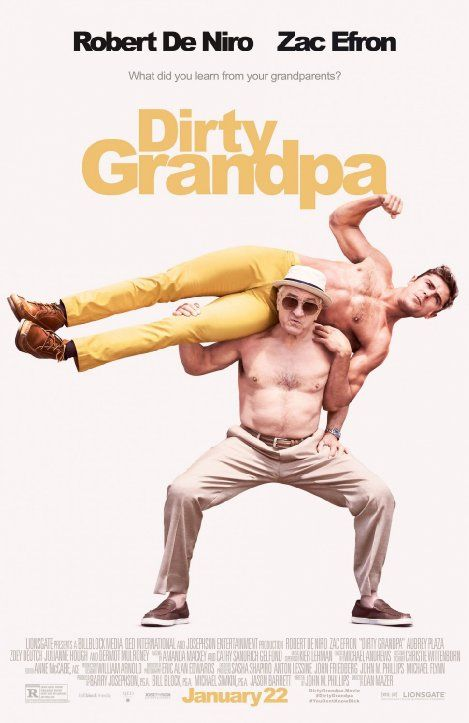 """Dirty Grandpa (2016) o mi """"Mi abuelo es un peligro"""", una película divertidisima, un poco subida de tono pero definitivamente ese abuelo si que es un desmadre. Veanla"""