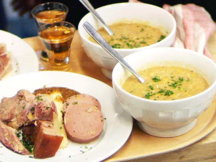Ärtsoppa med varm punsch | Recept från Köket.se