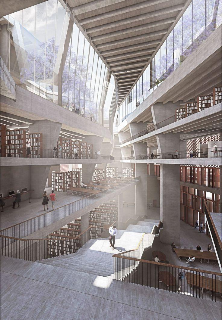 36 best render inspiration images on Pinterest Architecture - interieur design neuen super google zentrale