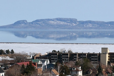 Great picture of the Sleeping Giant. Thunder Bay is a beautiful place to live!