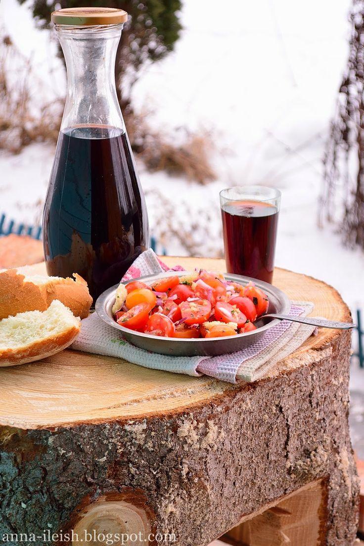 Вкусные домашние обеды: Салат аля Панцанелла