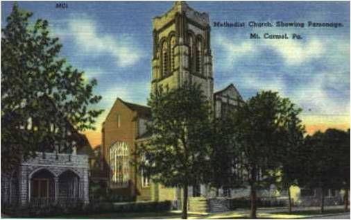 The Methodist Church, Mt. Carmel, PA