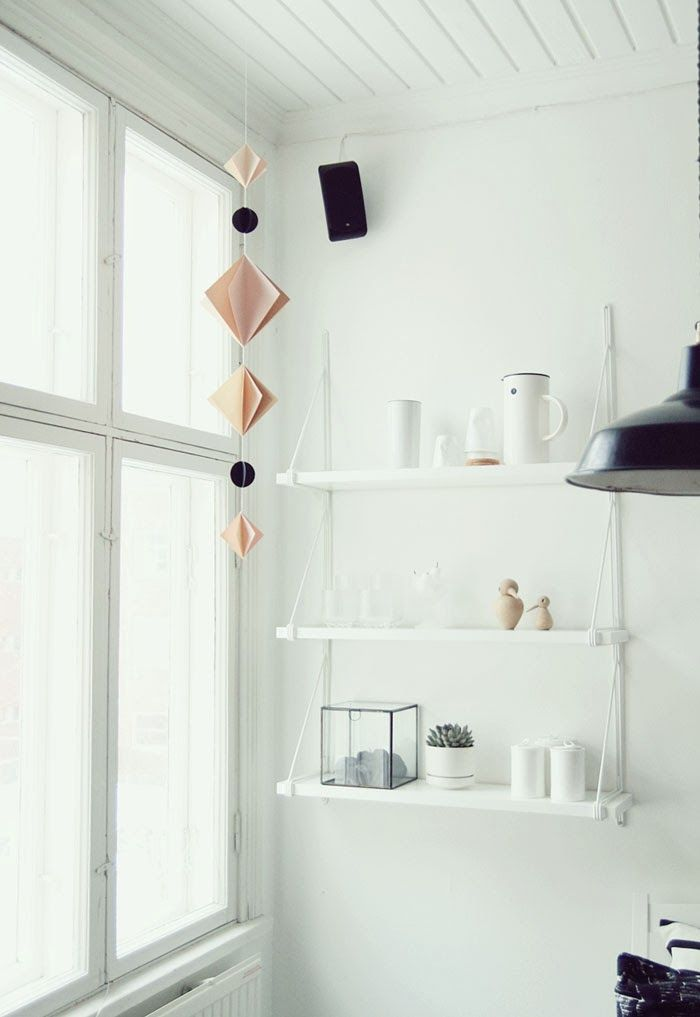 Ikea's version of the String Pocket. Option for the study. FEEL INSPIRED BLOG: SLOW FRIDAY
