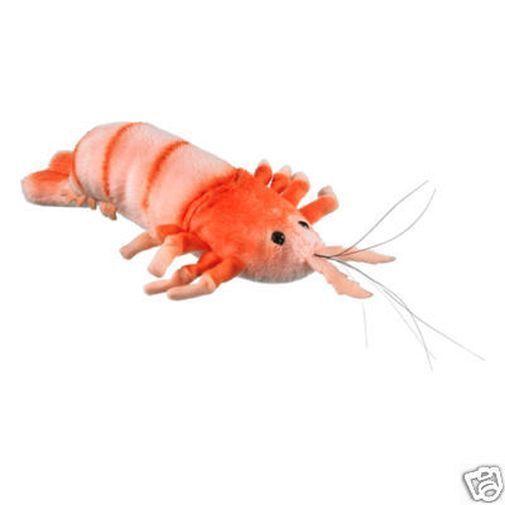 8 Shrimp Plush Stuffed Animal Toy Shrimp Plush Animals Plushies