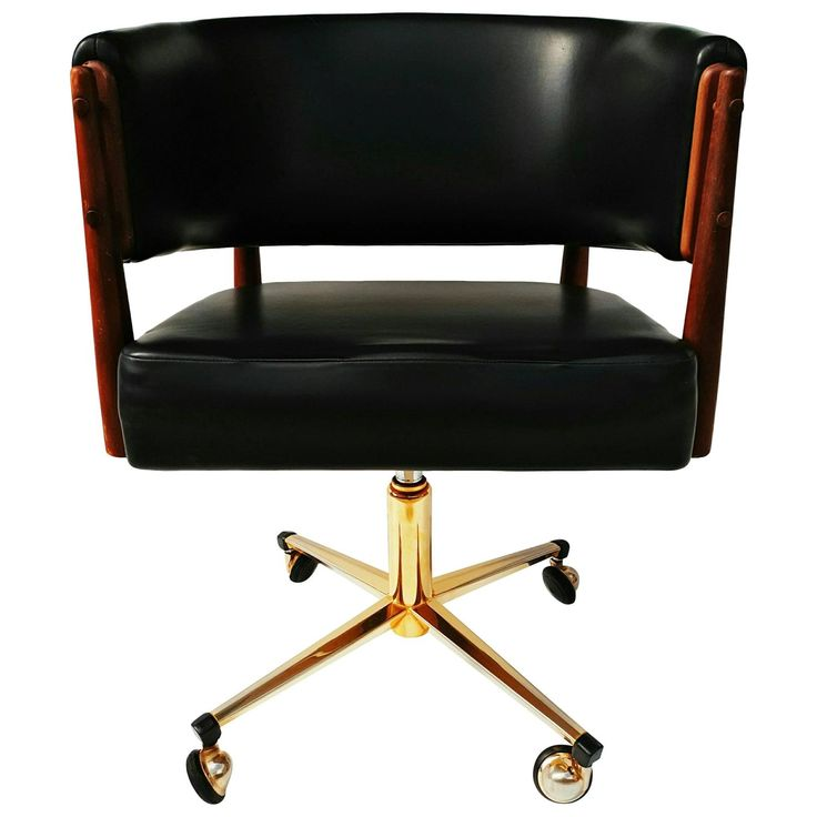 Finn Juhl Desk Armchair, 1960s | From a unique collection of antique and modern armchairs at https://www.1stdibs.com/furniture/seating/armchairs/