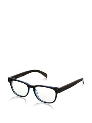 72% OFF Ivory + Mason Men's Bluebird Eyeglasses, Black Blue/Walnut
