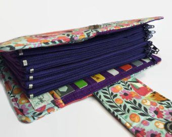 Womens Wallet, Fox Wallet, Dave Ramsey Money System, Money Envelopes, Purple Wallet, Credit Card Holder, Multi Card Organizer