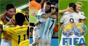 Argentina ocupa la primera posición del ránking FIFA y aún tiene la chance de ganar el Mundial. (Agencias)