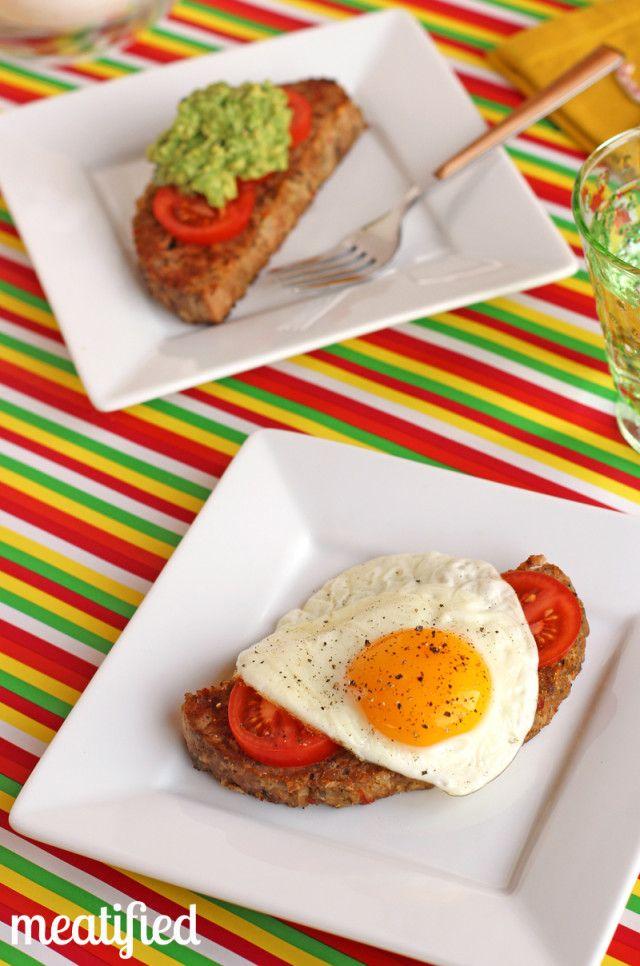 Slow Cooker Breakfast Meatloaf from http://meatified.com #paleo #whole30 #slowcooker #crockpot #meatloaf #breakfast