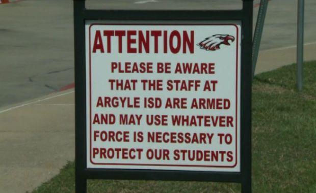 Armed to Teach: Argyle ISD Sticks to Its Gun Policy | KWKT Fox 44 | Central Texas  8-26-14