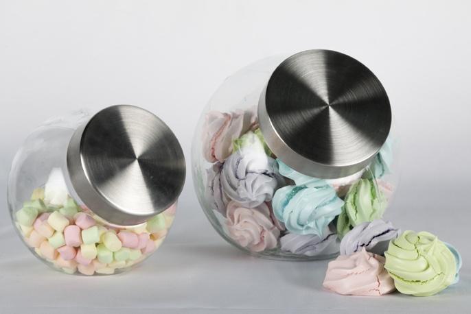 Almacena en un buen recipiente hermético de vidrio los dulces, harina, pastas y granos. Son ideales para decorar tu cocina. $24950