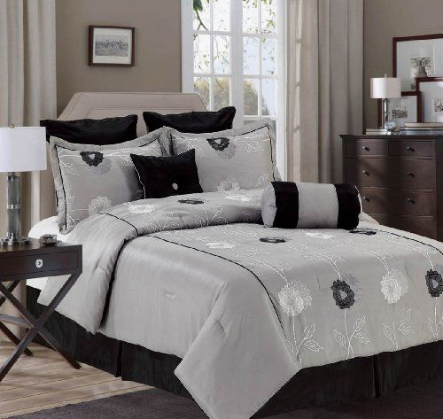 8 Piece Comforter Set Queen And King Size Many Colors