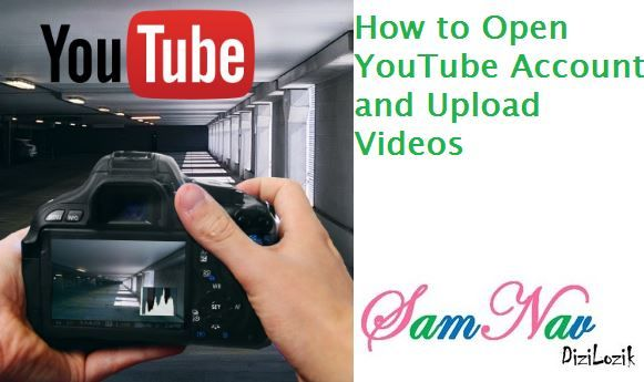 How to Open YouTube Account and Upload Videos. Once you're Gmail account is set up then Goto YouTube and provide your Gmail Account to login into YouTube.