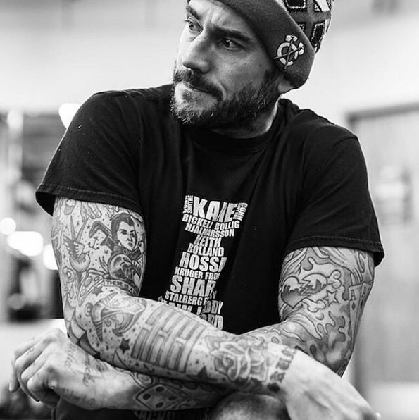 Former Talent 4df505d8c62ce9d9cf4d2f5e48c63f67--cm-punk-martial-arts