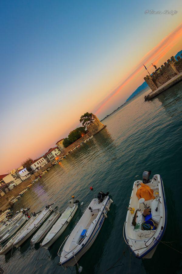 Nafpaktos Harbour, Greece