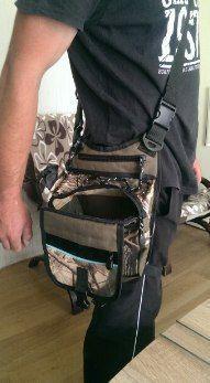Очень удобная многофункциональная сумка спиннингиста можно крепить спиннинг.сама крепится ремешком к ноге ➡ Купить - http://ali.pub/15yzsv
