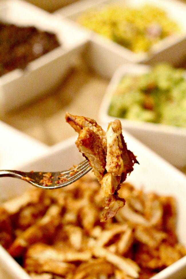 Chipotle Restaurant Chicken Recipe - use in the copycat recipe for Chipotle Burrito Bowls
