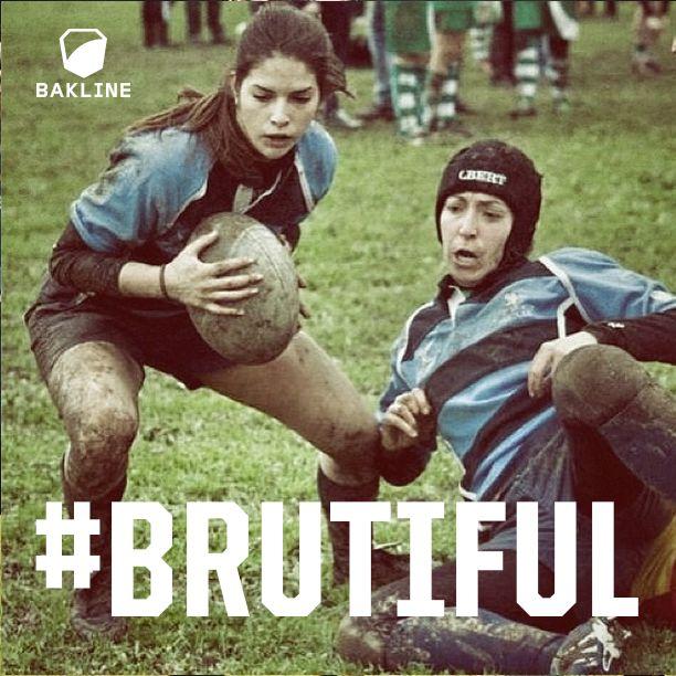 She's stunning, Italian and dedicated to the #brutiful game. Grazie @liwuoiqueikiwi #bakline