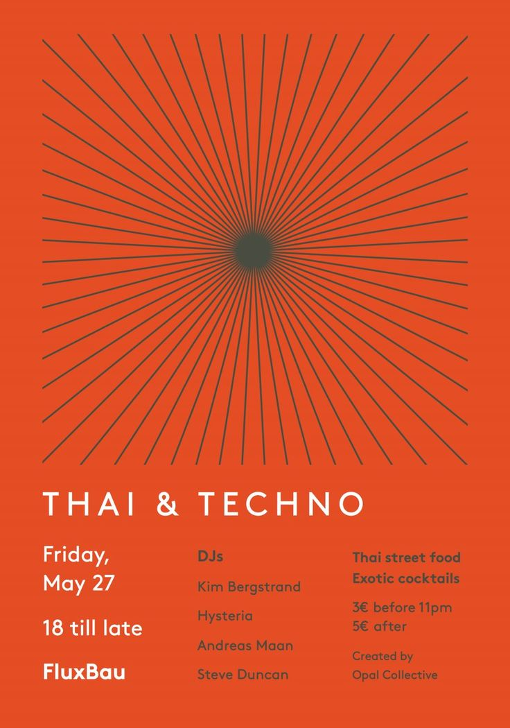 RA: Thai & Techno - The Finale at Fluxbau, Berlin