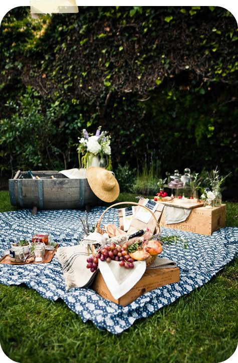 picnic - it's June, isn't this what we are all supposed to be doing??