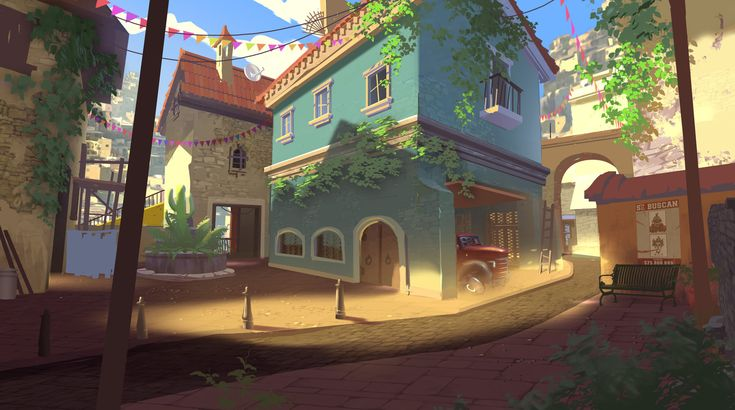 Overwatch - Blizzcon 2015 Artists Stage Demo and Miscellaneous, Nick Carver on ArtStation at https://www.artstation.com/artwork/RXExX