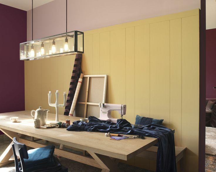 Deco salle a manger couleur pastel dulux valentine