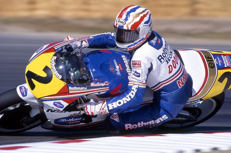 Michael Doohan on the NSR500 Honda