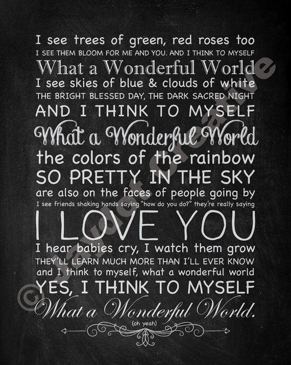 It's a Beautiful World - Genius | Song Lyrics & Knowledge